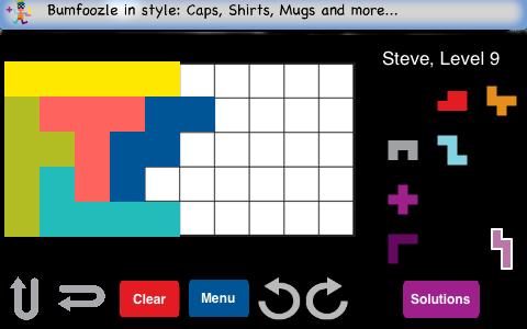 iPhone solving puzzle